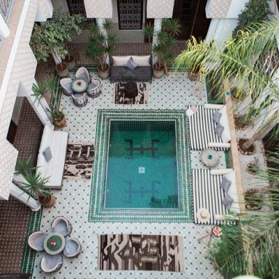 Riad Yasmine Marrakech Patio Vue